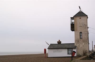 Aldeburgh beach south lookout