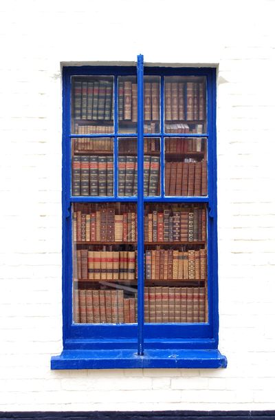 Aldeburgh bookshop window