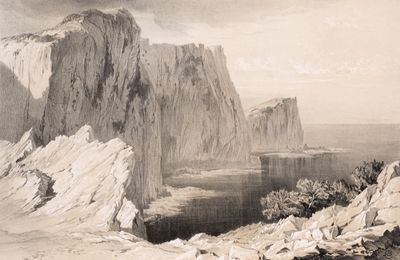 Capo Ducato or Sappho's Leap by Edward Lear