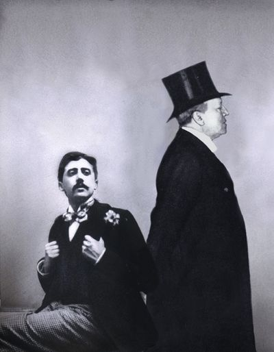 Marcel Proust meets Henry James