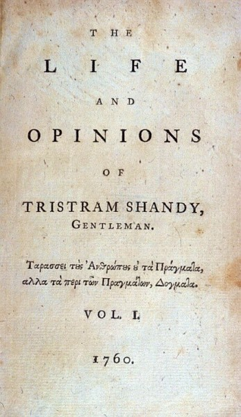 Tristram Shandy vol one