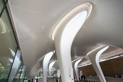 Interior of Serpentine Sackler Gallery extension. Copyright: Oli Scarff/Getty Images
