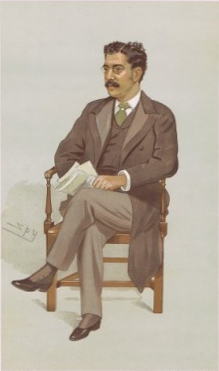 Clement K Shorter Vanity Fair 1894