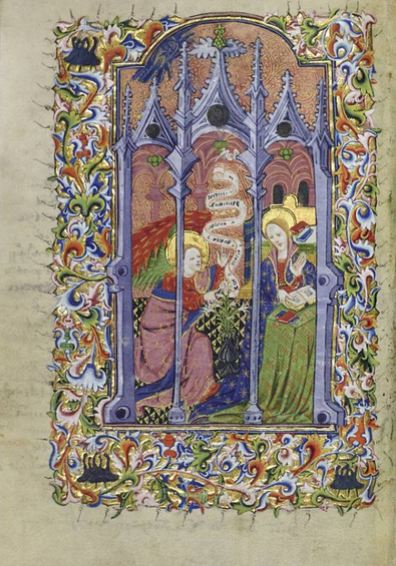 Book of Hours, Use of Sarum2