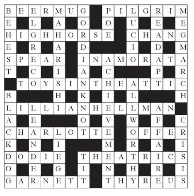 TLS Crossword 1001 solution