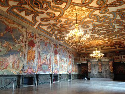 inside Herrenhausen orangery