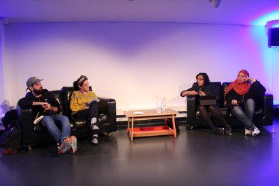 Omar El-Khairy,  Sabrina Mahfouz,Ritula Shah and Shaista Aziz