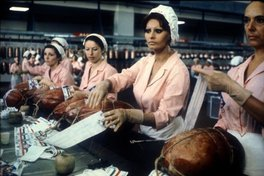 Sophia Loren (right) in La mortadella (1971) by Mario Monicelli Photograph Photos 12Alamy