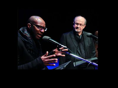 Teju Cole and Salman Rushdie