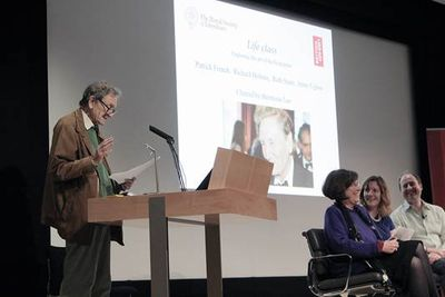 Michael Holroyd at the British Library, October 5