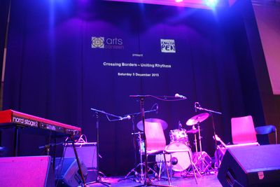 Uniting Rhythms event