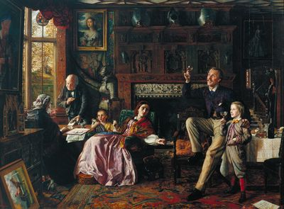 Robert Braithwaite Martineau, The Last Day in the Old Home, 1862
