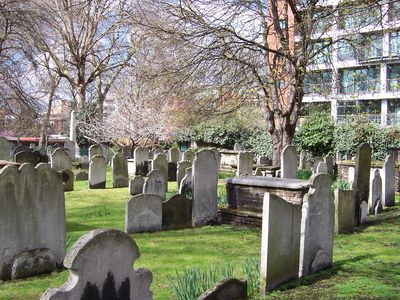 Bunhill Fields Burial Ground 2