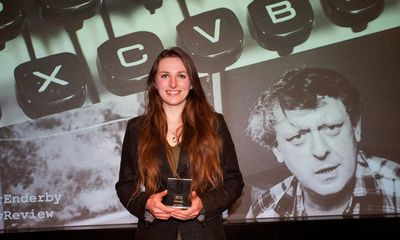 Observer Anthony Burgess Prize for Arts Journalism 2