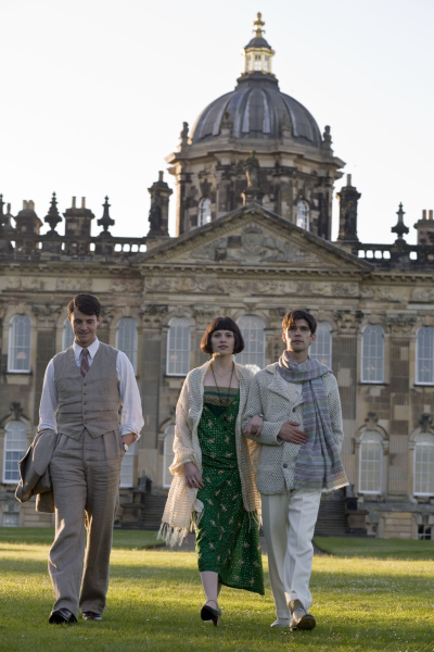 Matthew Goode, Ben Whishaw and Hayley Atwell in Brideshead Revisited, 2008