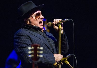 Van Morrison at Blues Fest, October 28, 2014. Photo by Brian Rasic/REX