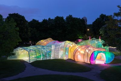 Serpentine Pavilion 2015. Photo: Iwan Baan