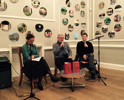 Vodolazkin launch at Pushkin House