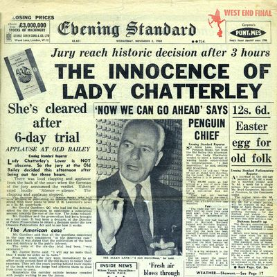 Lady Chatterly trial