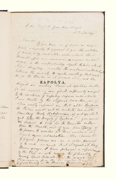Zapolya letter