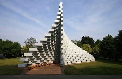 BIG Serpentine Pavilion. Photography by Daniel Leal-Olivas/AFP/Getty Images