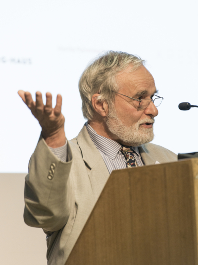 John Prag, Professor Emeritus of Archaeological Studies