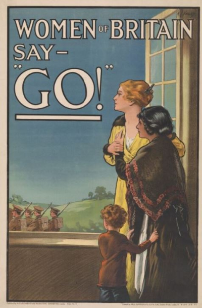 Women of Britain Say - Go!